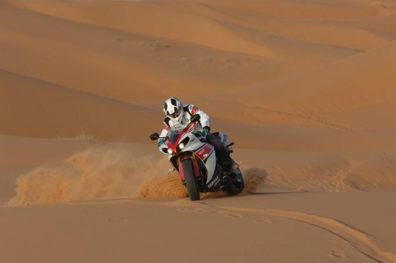 r1 desert ride